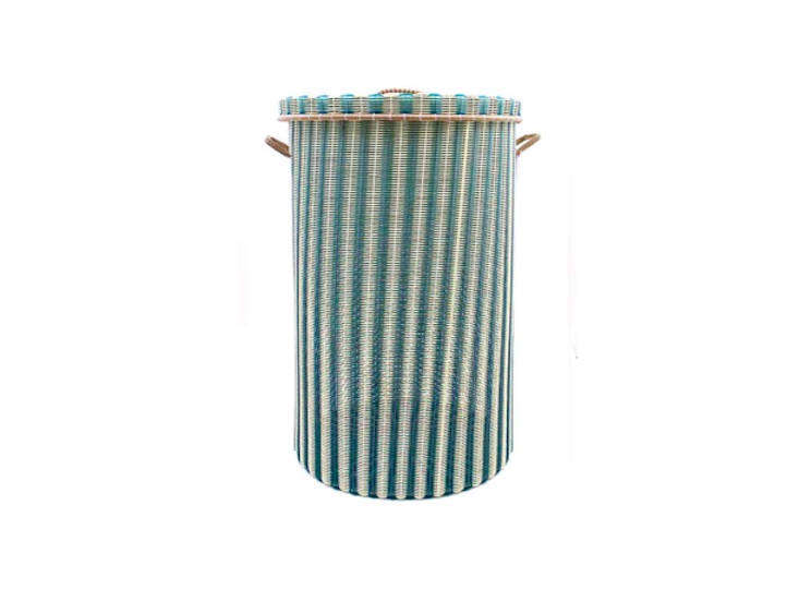 The Large Laundry Baskets (shown here in cream and green) are each £84.
