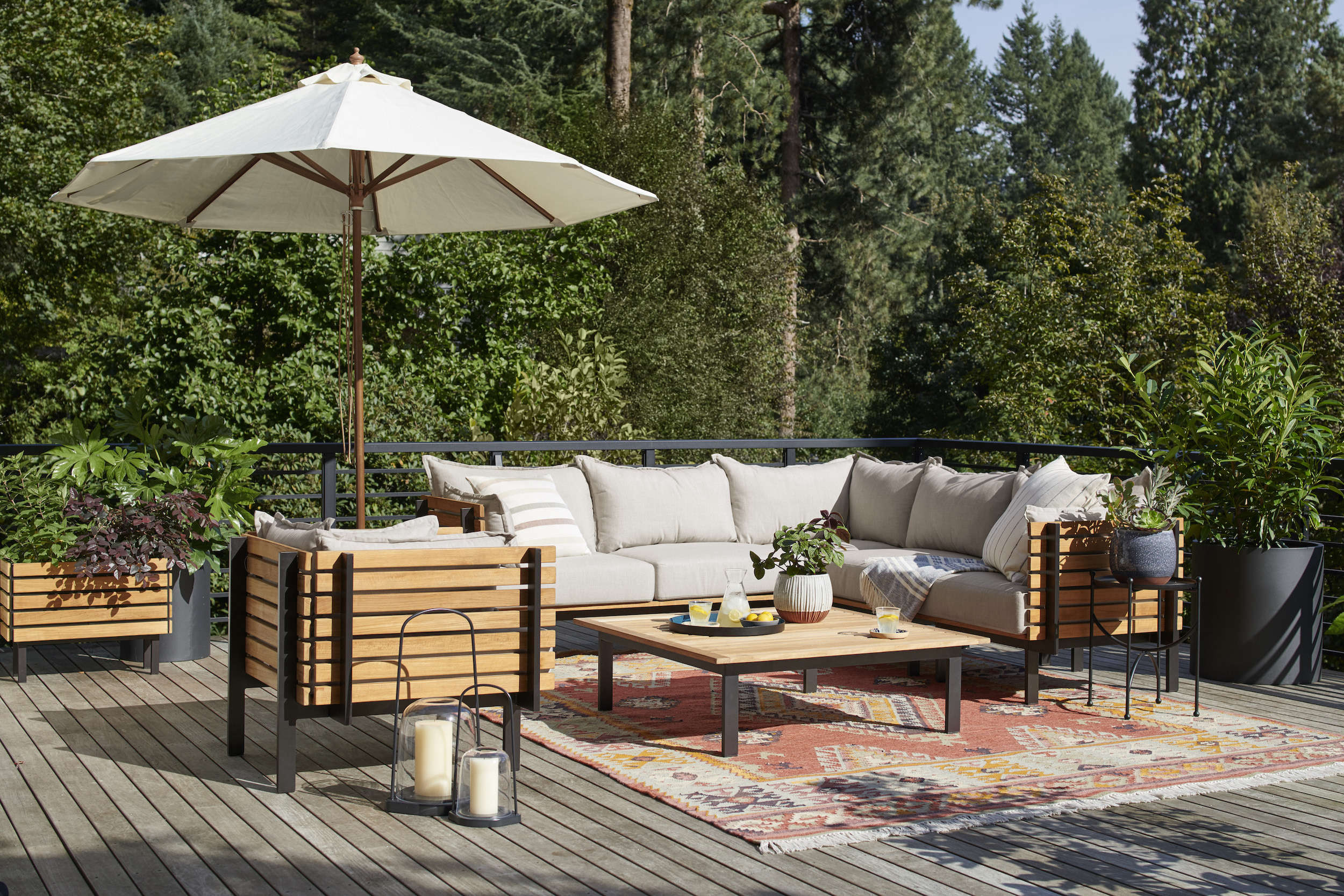 Outdoor Havens: 9 Essentials for Creating a Garden Oasis, from Rejuvenation - Remodelista