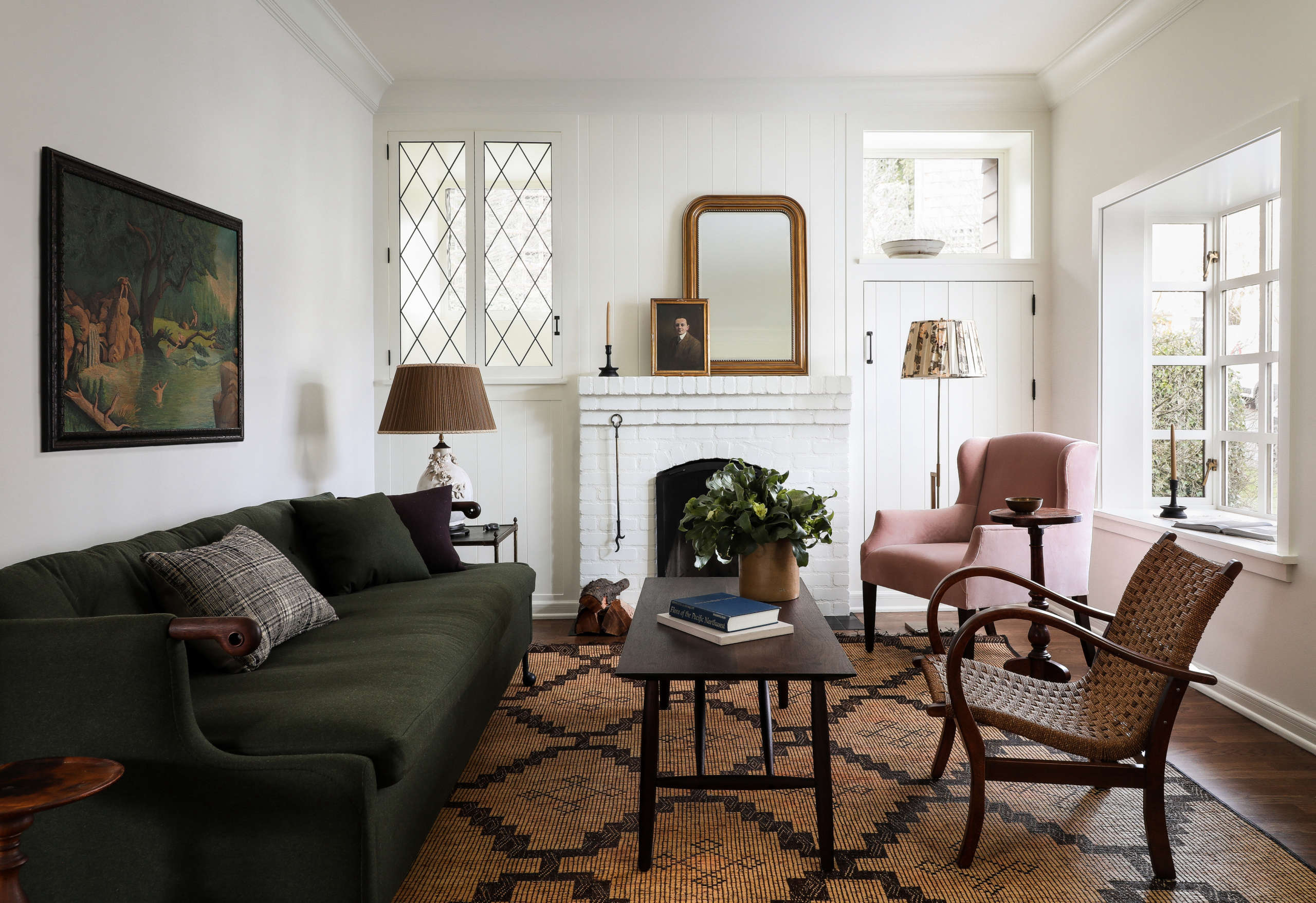Small House Makeover: An English-Style New Look for a Couple's Longstanding Seattle Home