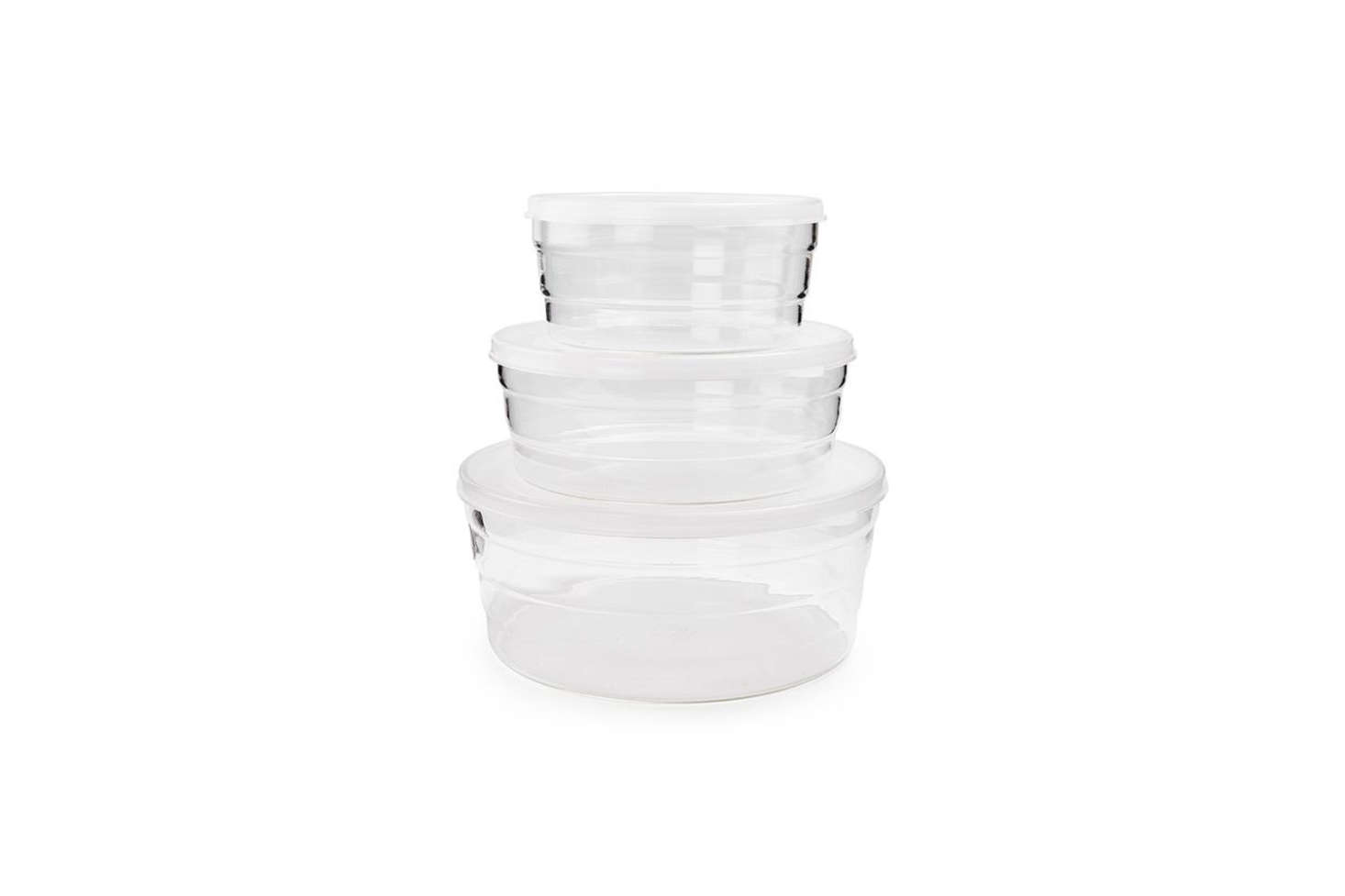 Another Remodelista favorite, now hard to find, the Trendglas Jena Glass Storage Dish comes with glass or plastic lids. Available through Trendglas Jena directly in Germany for €