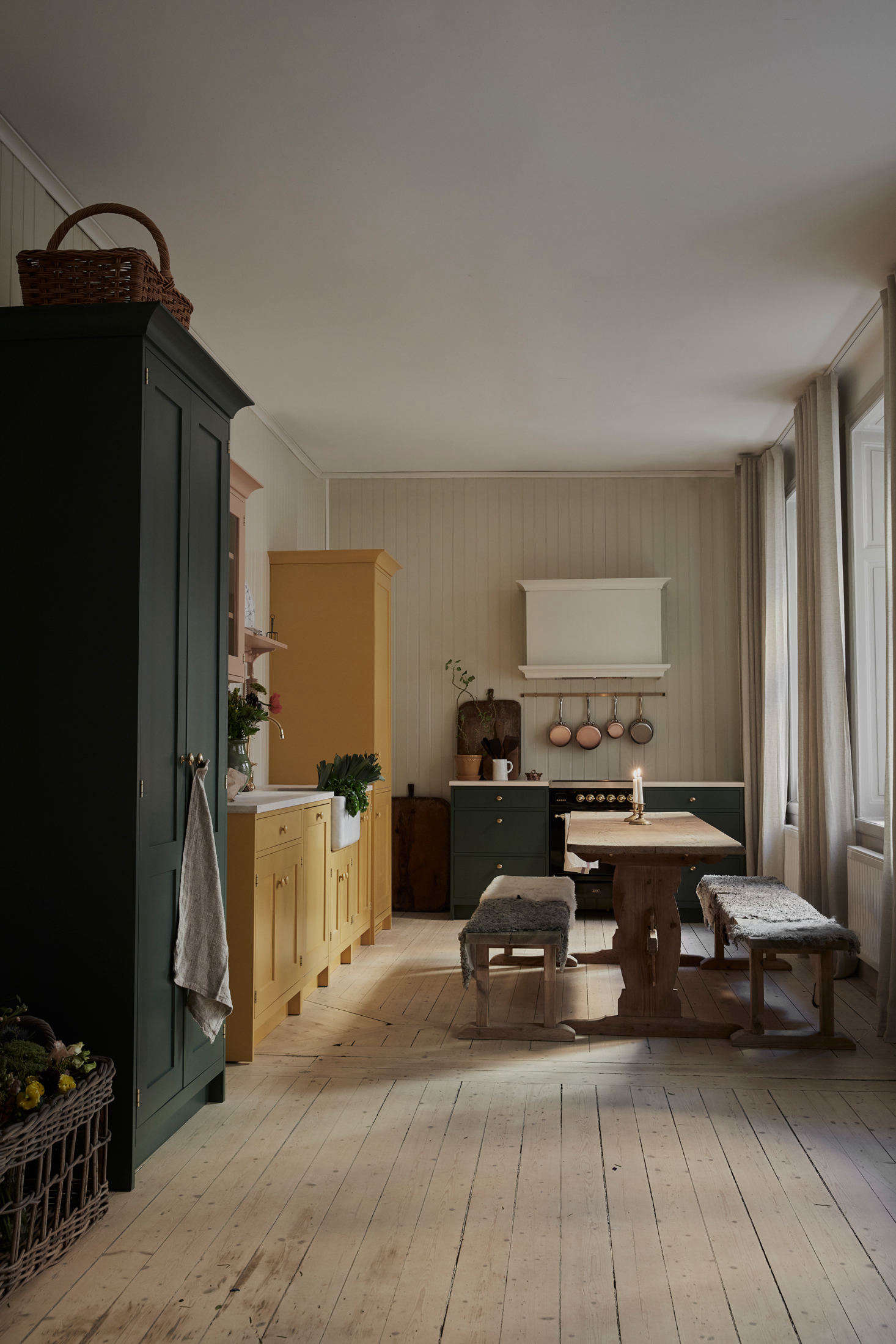 Working with the Carl Larsson foundation, Cupboards & Goods developed a limited edition color collection called Ett Hem (Swedish for &#8