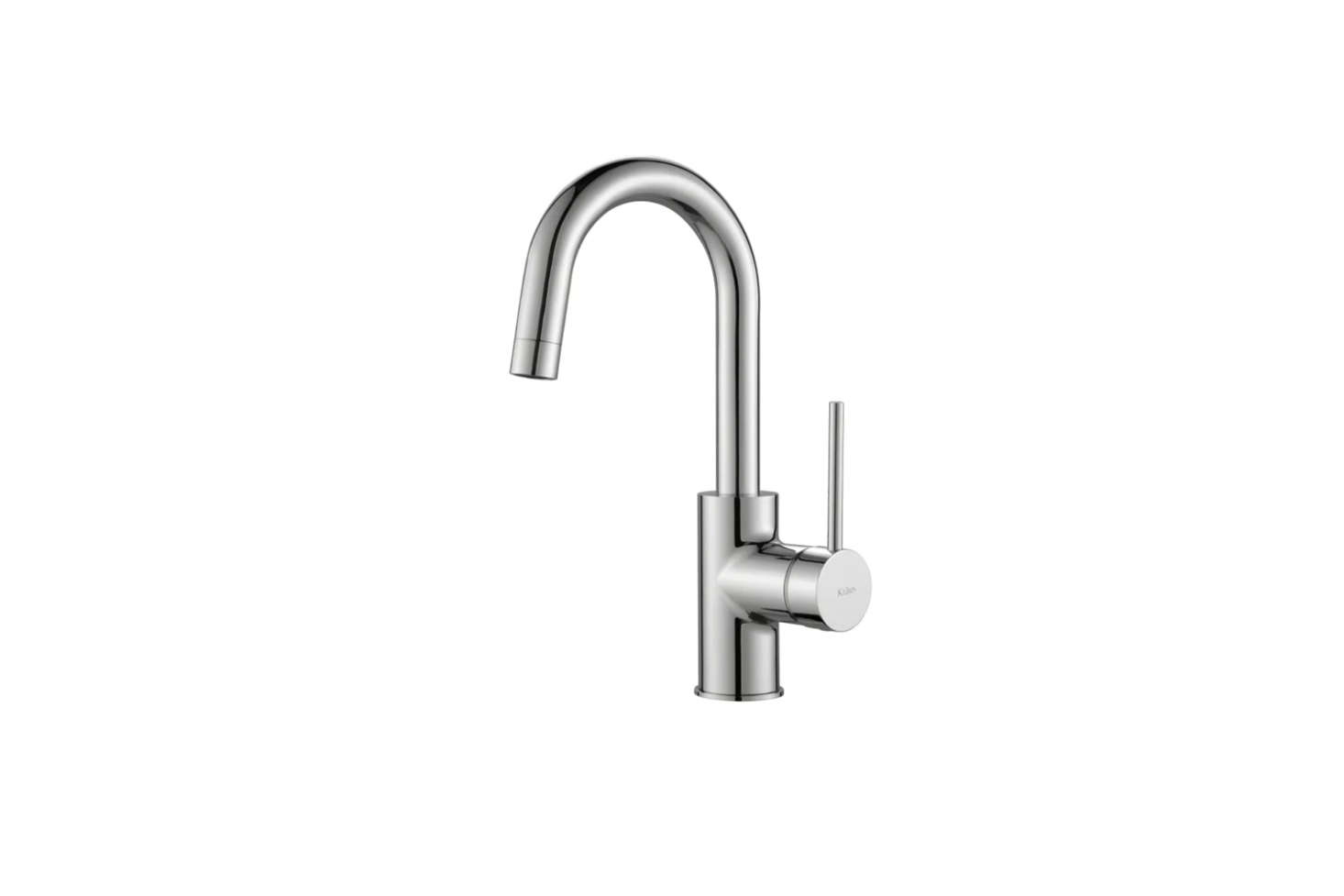 The Kraus Oletto Single Lever Kitchen Bar Faucet (KPF-00CH), in chrome and spot-free stainless steel, is $9.95 at Build.com.
