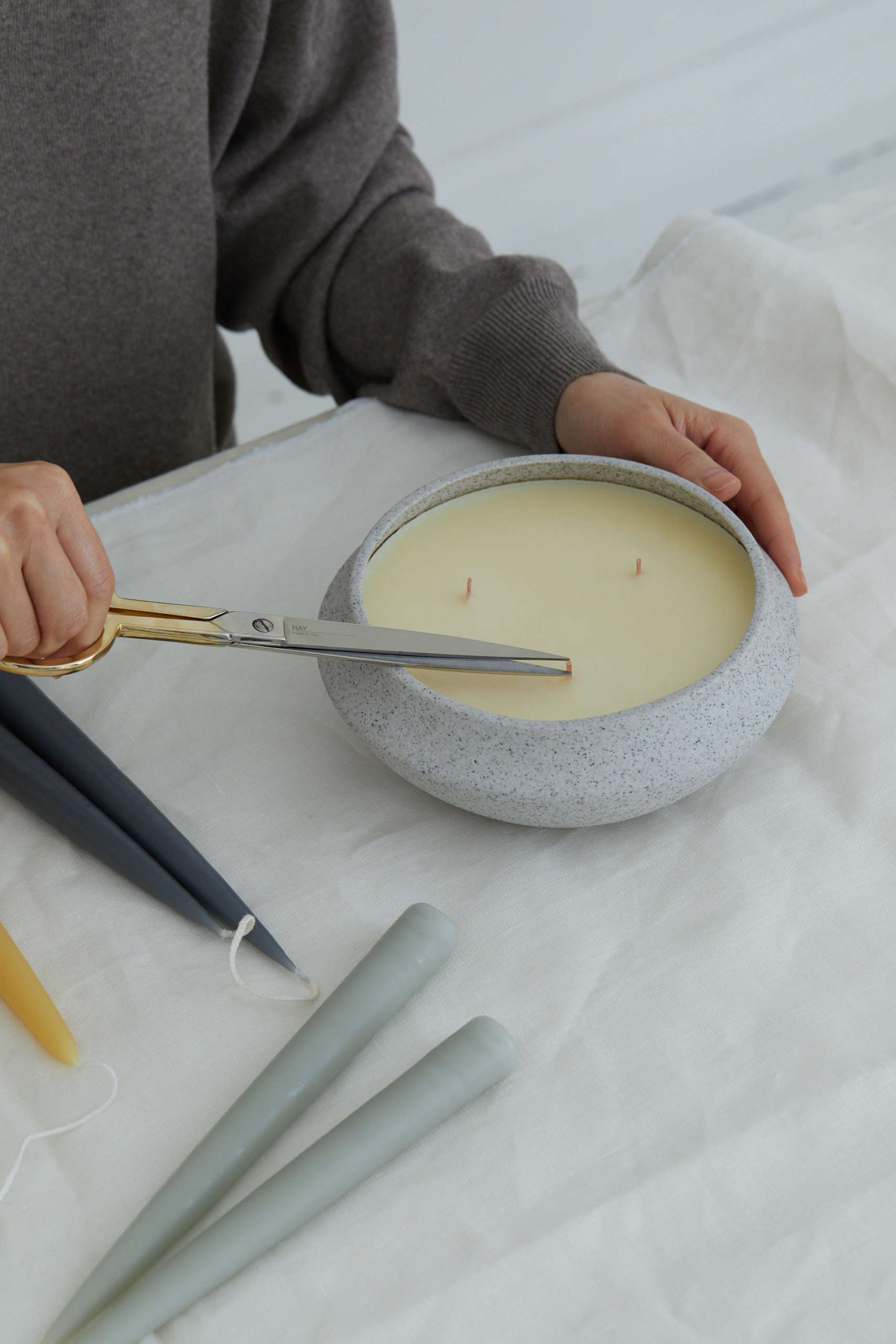 How to Care for Candles: Tips from a Brooklyn Shop - Remodelista