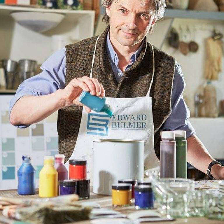 """Natural, Not Plastic"" Paint from Edward Bulmer in Herefordshire - Remodelista"