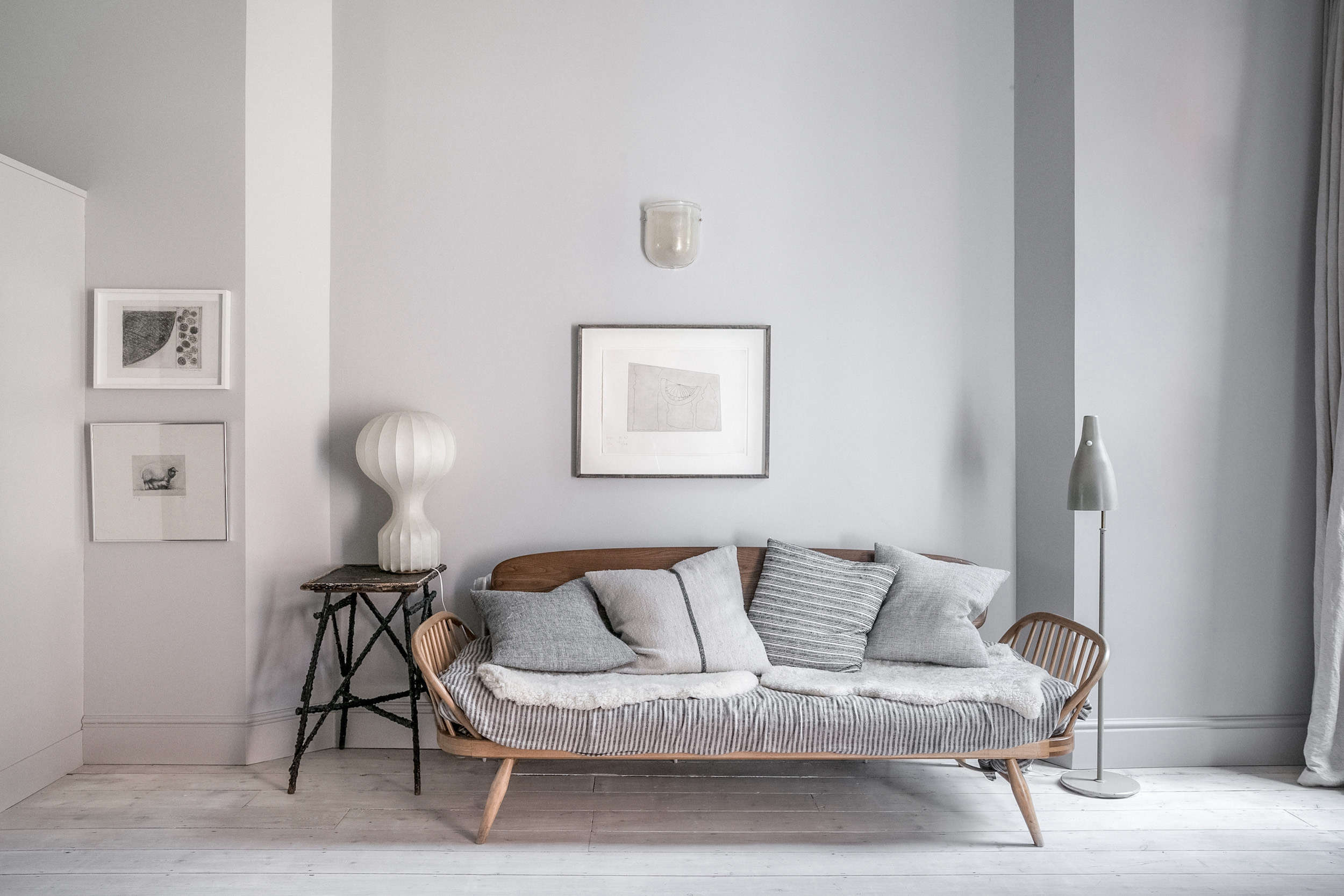 Design Luminary Faye Toogood's Family-Friendly Minimalist Apartment - Remodelista