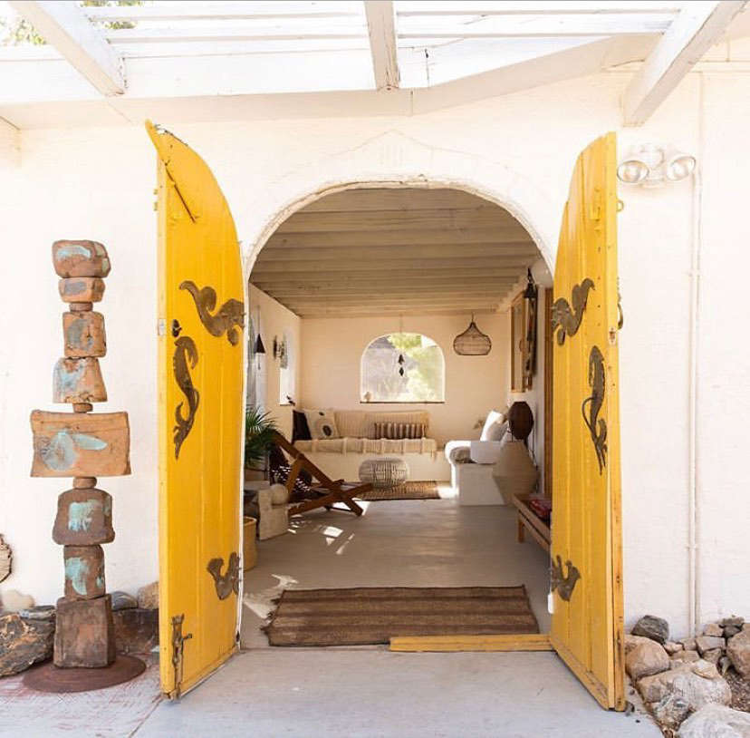 Merchant House High Desert: A Spanish-Style Oasis in the Mojave - Remodelista