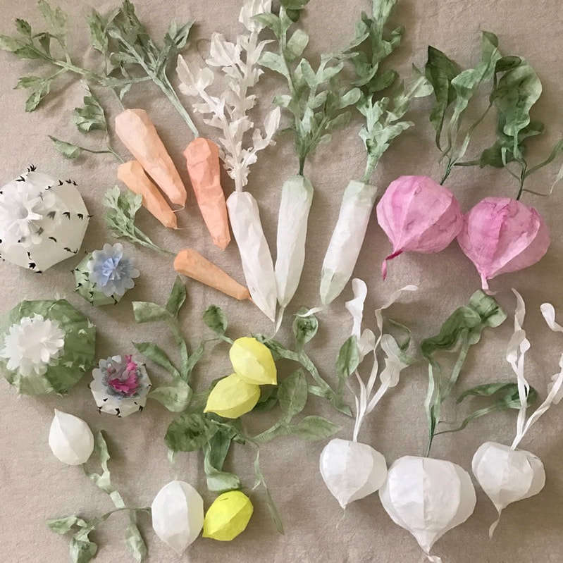 Trend Alert: Paper Flowers, Fruits, and Plants as Decor - Remodelista