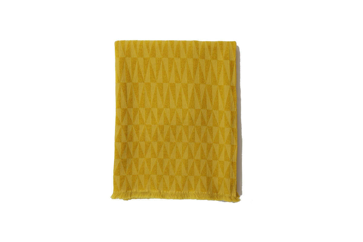 We like the sunniness of the Apex Throw in goldenrod ($5, currently on sale for $5), though it&#8