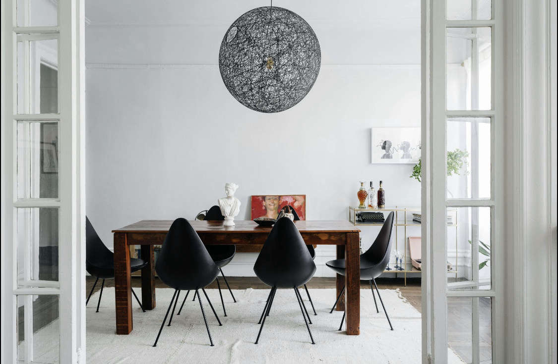Modern Meets Organic in the Brooklyn Apartment of Delia Kenza's 'Bad Ass' Client - Remodelista