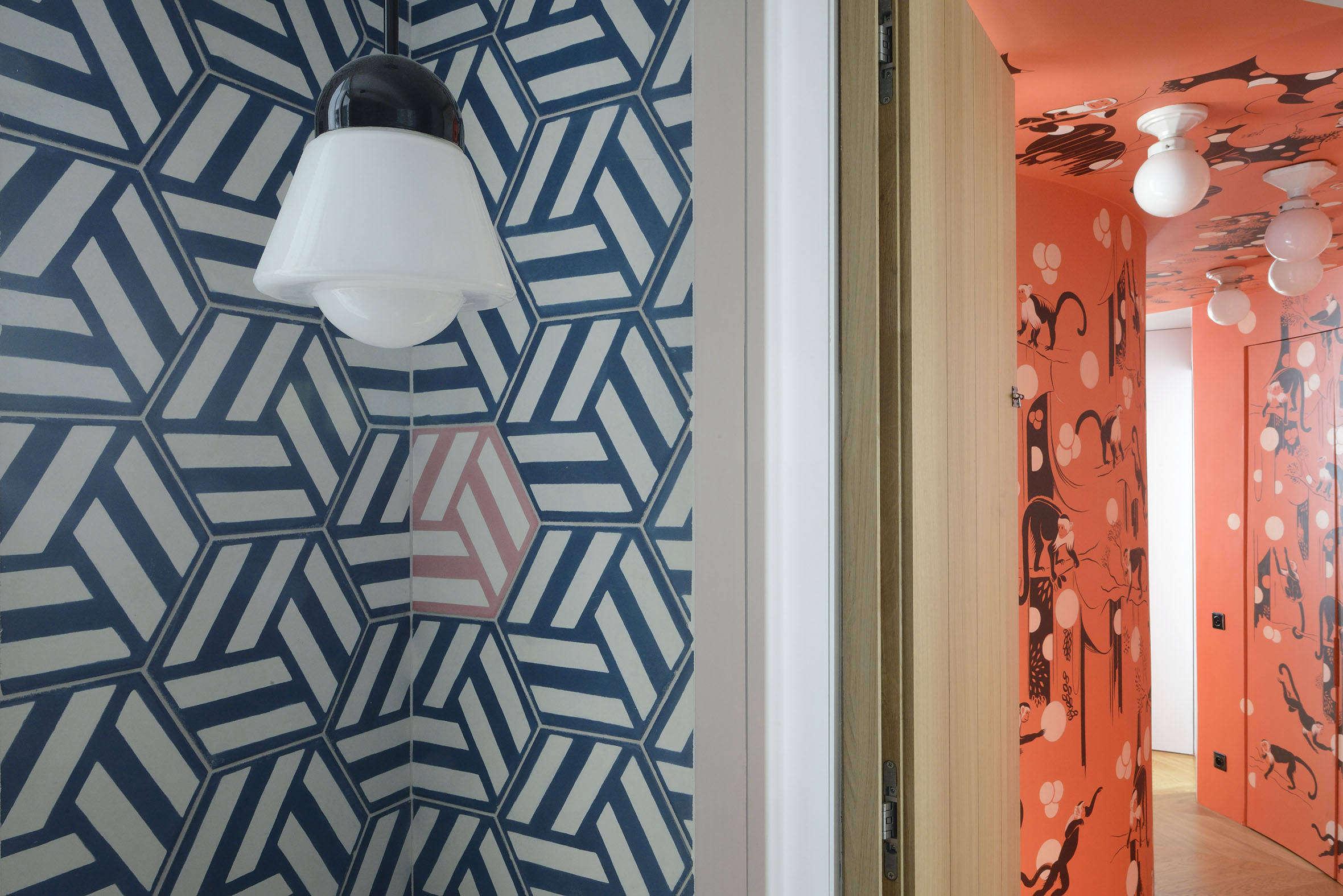 A Madcap Apartment in Paris for a Creative Couple (Plus Kids) - Remodelista