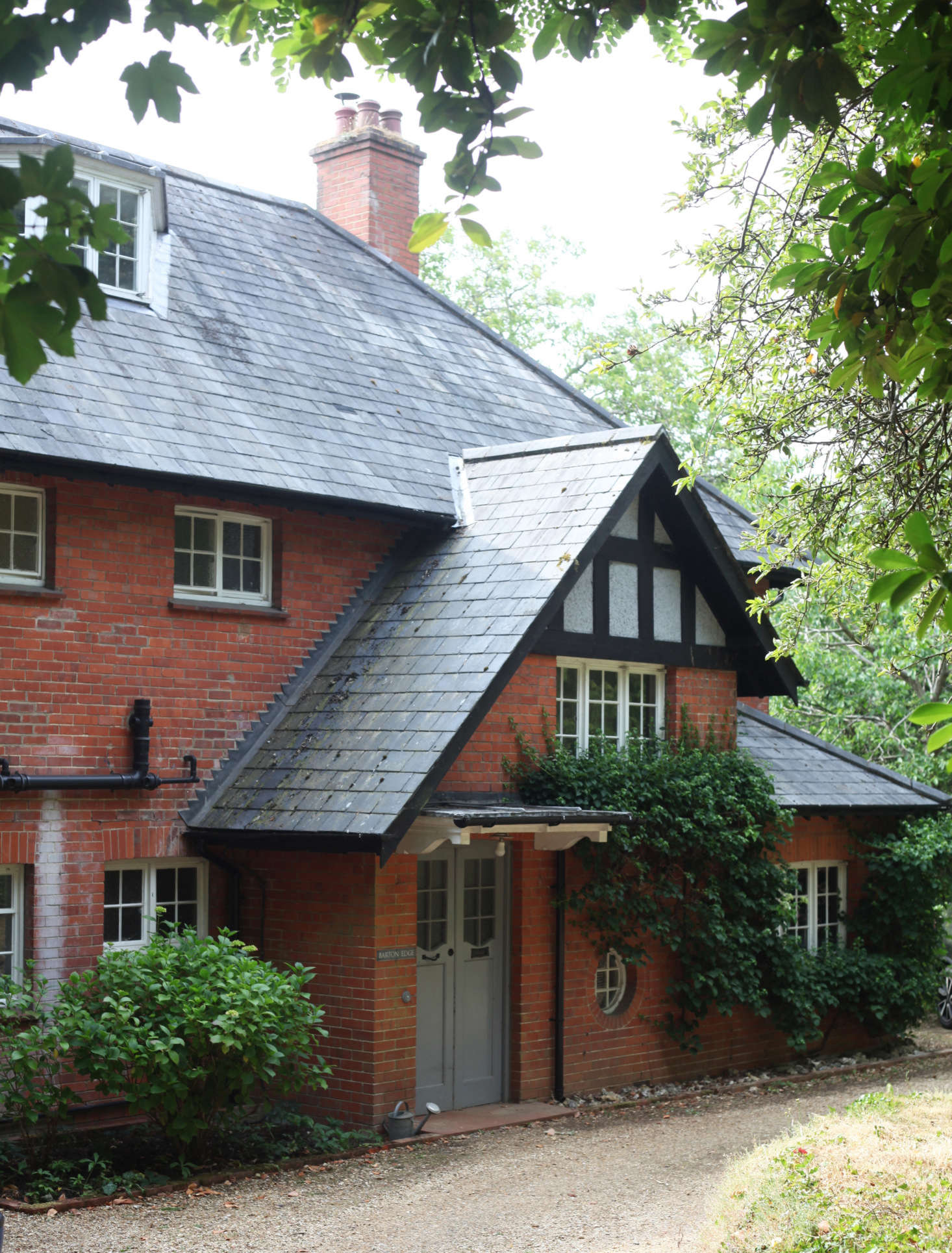 Victoria and Phil and their three children moved to Barton Edge almost  years ago. Built in the Arts and Crafts style, it&#8