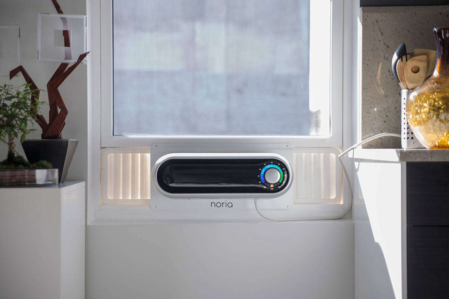 We're still awaiting the Kapsul which has been released in waves for Kickstarter donors. The 5,000 BTU air-conditioning window unit, originally called Noria, raised almost $src=