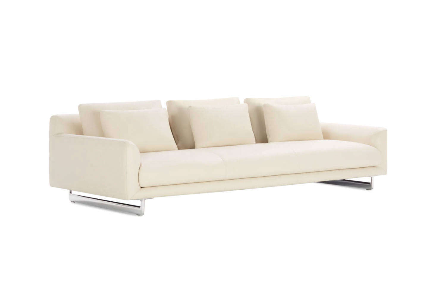 From architecture firm Claesson Koivisto Rune for Design Within Reach, the Lecco Sofa comes in two sizes—93 inch and src=