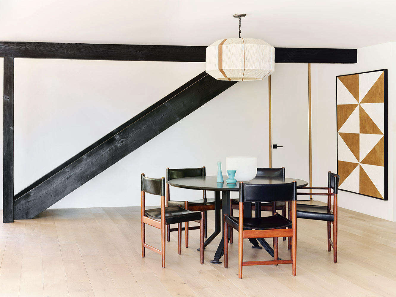 Every Piece A Statement A Refined Malibu Home For A Father And Son By La Designer Brigette Romanek Remodelista