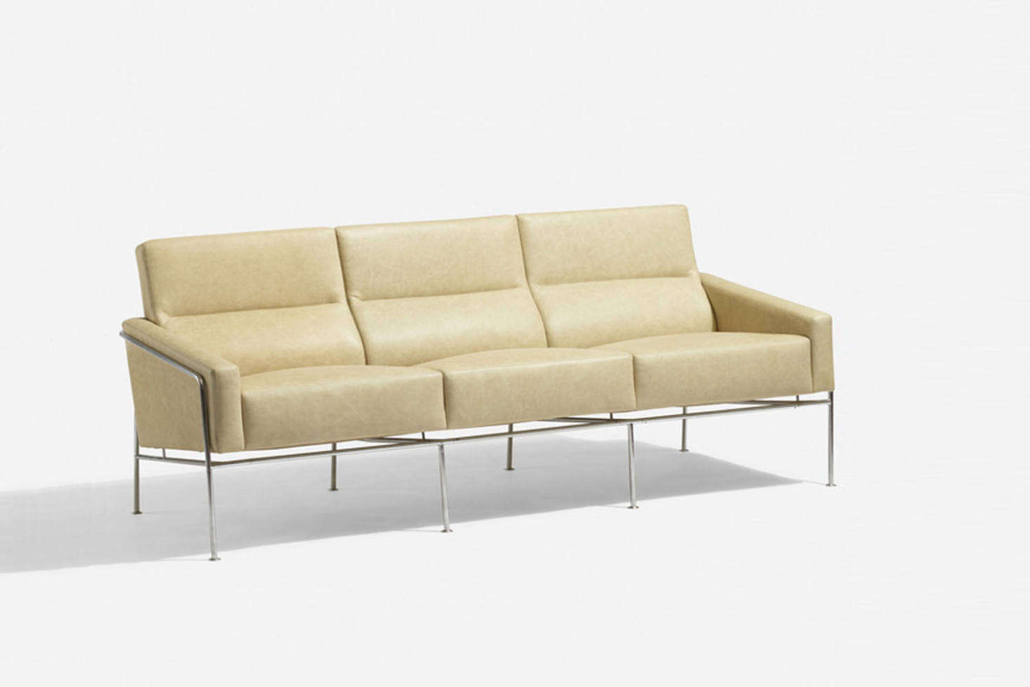 Danish architect and designer Arne Jacobsen, the Series 3300 Sofa for Fritz Hansen comes as a two or three seat set up; prices start at $8,3 at Design Within Reach.