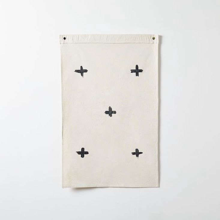The handmade Code Zero Flag, by Austin, TX-based Wild Standard, is $90 from West Elm. &#8