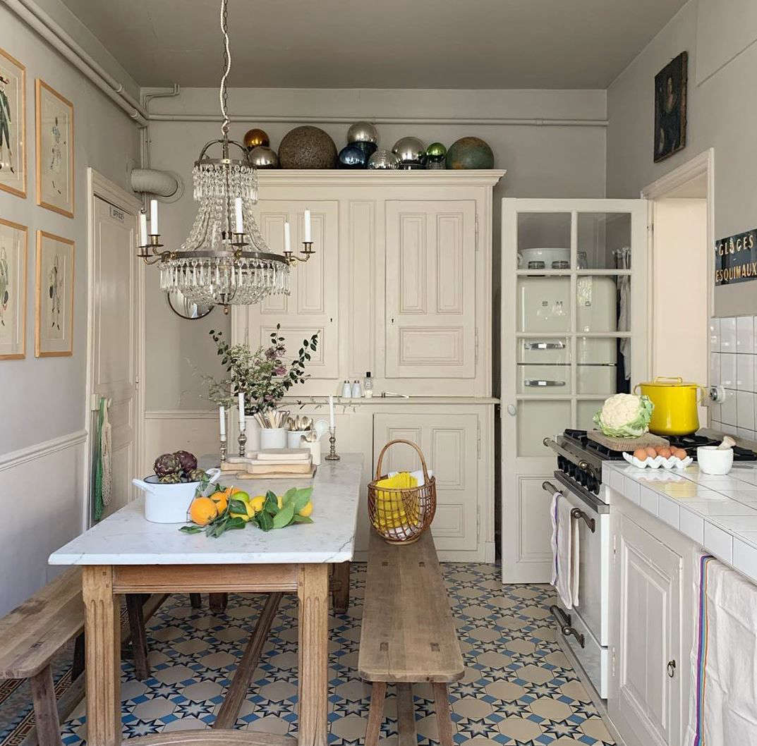 A Moveable Feast: Two French Shop Owners' Whimsical, Always-Changing House in Reims - Remodelista
