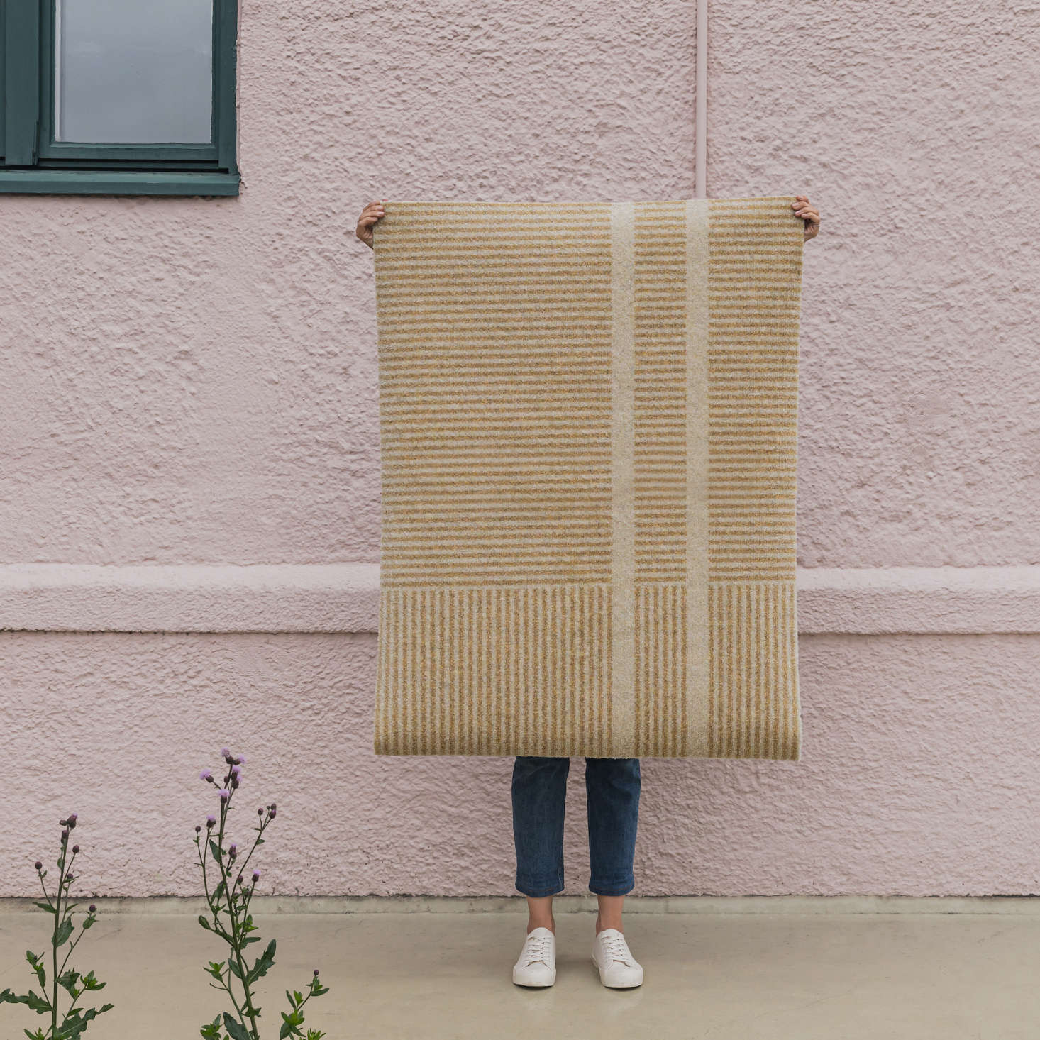 The Heymat Løype design comes in four colors and three sizes, starting at $0. These mats are machine washable, and have enough weight that they won&#8
