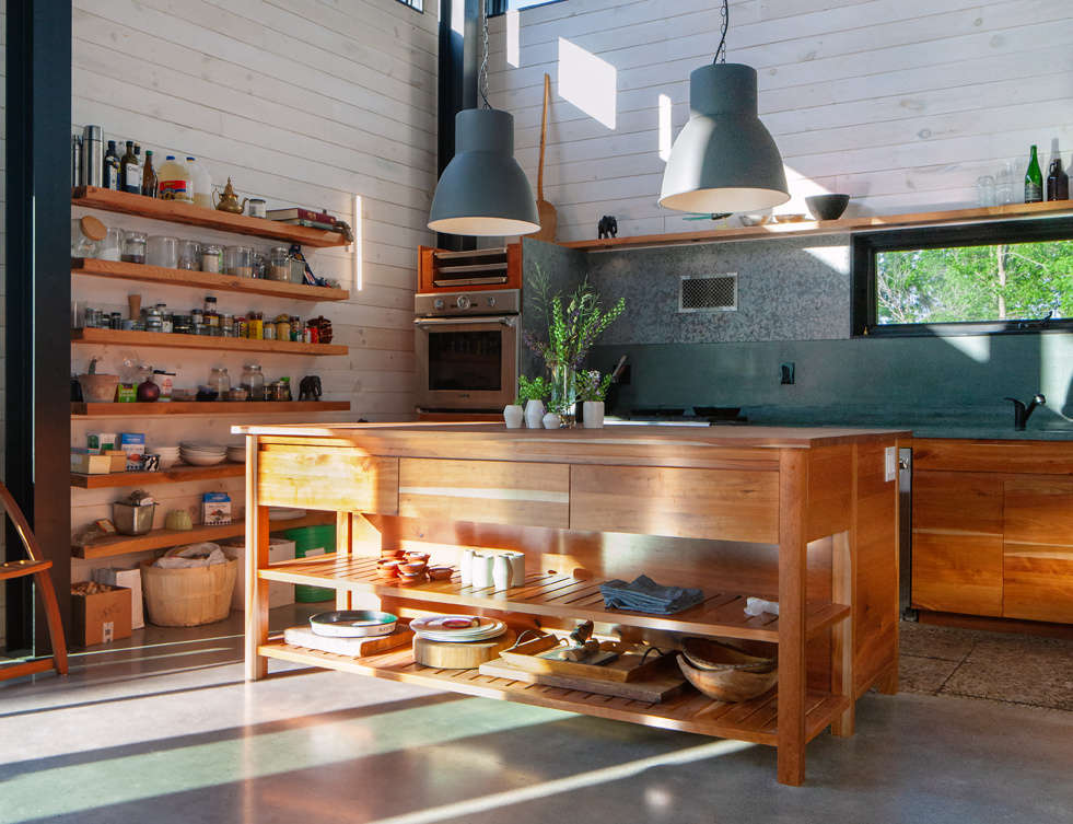 Kitchen of the Week: A Locavore Chef and Landscape Architect's Low-Impact Kitchen - Remodelista