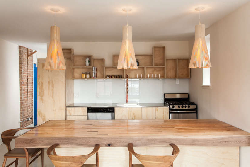 Kitchen of the Week: A Clever Kitchen Built from Affordable and Recycled Materials - Remodelista