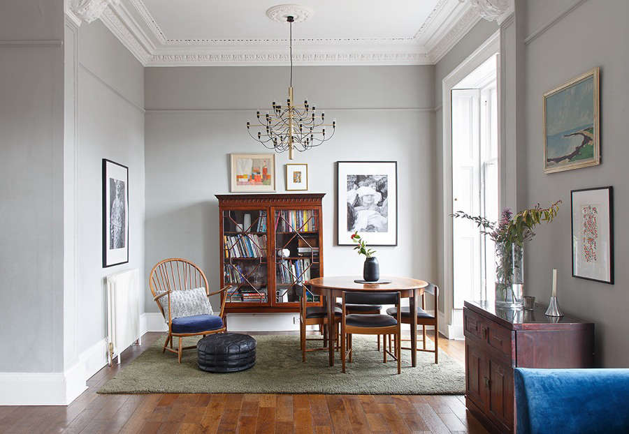 A Victorian apartment in Edinburgh - Remodelista
