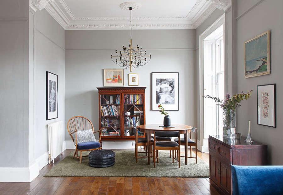 A Victorian apartment in Edinburgh - Remodelista