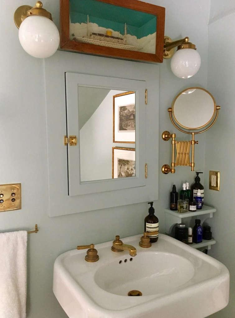 Hudson Valley Farmhouse Bathroom Remodel Remodelista - 10000 usd bathroom remodel