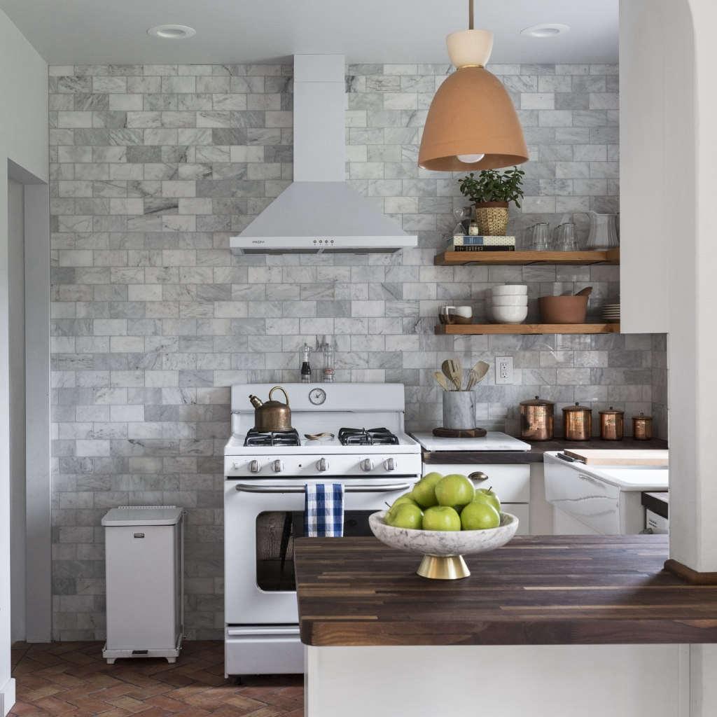 Modernized Bungalow Kitchen Renovation: Brandt Cottage Remodel: Kitchen