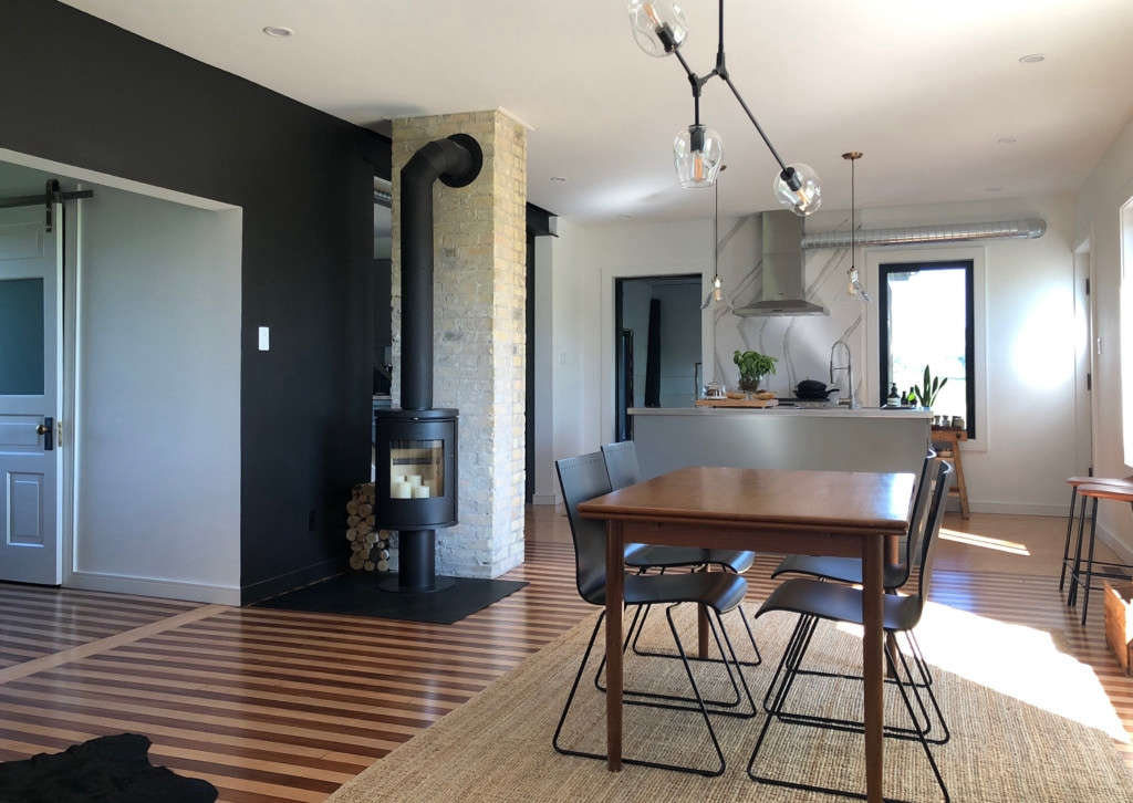 Modern Farmhouse Living Space Remodelista