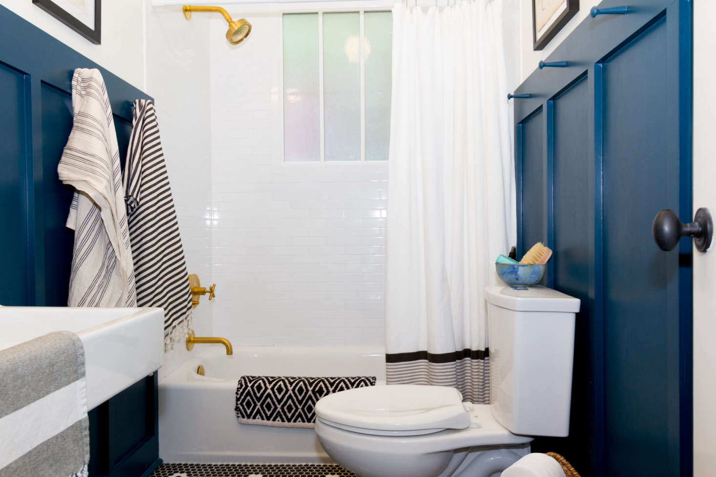 Best Amateur Bath: Craftsman Bungalow Guest Bathroom Remodel by ...