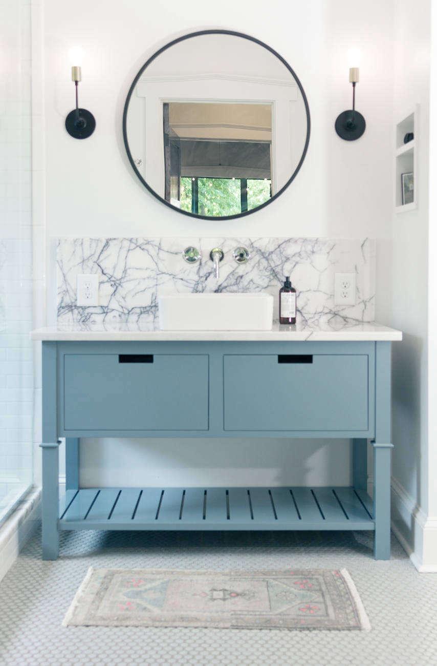 Modernizing a Master Bath in a Craftsman Bungalow - Remodelista
