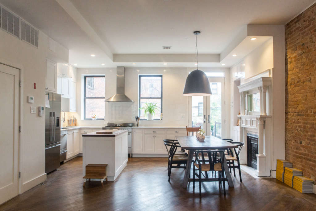 Family comes first in a Bed Stuy, Brooklyn, kitchen renovation ...